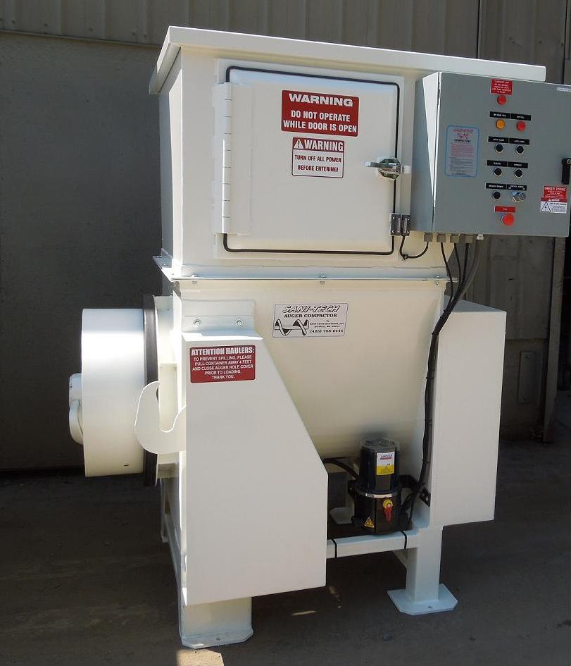 ST524 Auger Compactor
