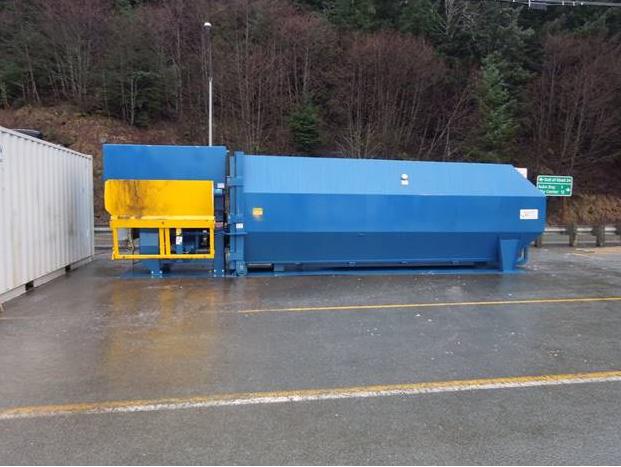 Alaska Marine Compactor